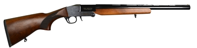 "Pardus SB 20GA Single Barrel Shotgun, 18.5"" Wood"
