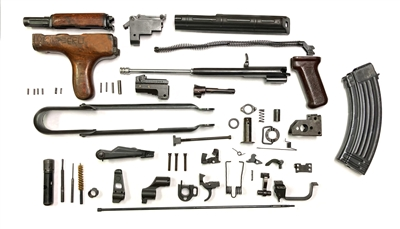 A Grade Matching Romanian Underfolder AK 47 Parts Kit