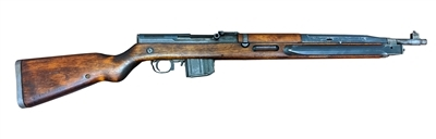 VZ 52 Rifle Cal. 7.62x45 with hairline crack in stock.