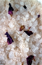 Rose Geranium Aromabath Salts, 200gm