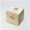 Hand-crafted empty wooden chest for 4 essential oils