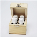 ESSENTIALS box of 4 with Lavender, Orange, Peppermint and Tea Tree (save 20% off RRP)
