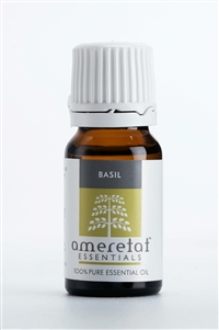 Basil Pure Essential Oil, 10ml