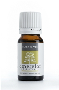 Black Pepper Pure Essential Oil, 10ml
