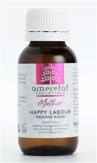 Happy Labour Massage Blend, 50ml