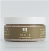 Lavender Walnut Exfoliating Scrub for face, hands and body, 100gm