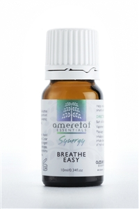 Breathe Easy 100% Pure Essential Oil Synergy, 10ml