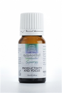 Productivity and Focus 100% Pure Essential Oil Synergy, 10ml