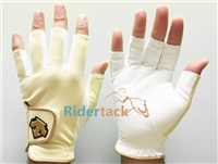 Short Finger Riding Jockey Gloves Style JRA521, JRA531, JRA541 by Descente - Jockey Apparel
