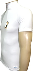 Short Sleeve Lycra Turtleneck Shirt by Equiwin