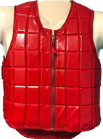 Non-Rated Vest in Vinyl, Punto Style