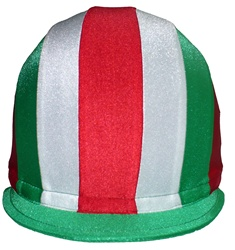 Front to Back Multi-Color Lycra American Helmet Cover - Jockey Apparel