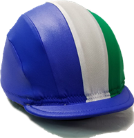 Striped Lycra Helmet Cover | Equiwin | Jockey Equipment