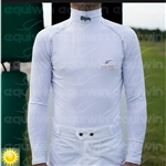* FINAL SALE, NON RETURNABLE * Long Sleeve Lycra Turtleneck Shirt by Equiwin, Private Brand