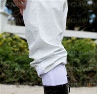 Racing Mud Pants in Insulated Vinyl, Winter Style with Elastic Leggings by Equiwin