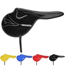 * FINAL SALE, NON RETURNABLE * Large Racing Saddle in Vinyl