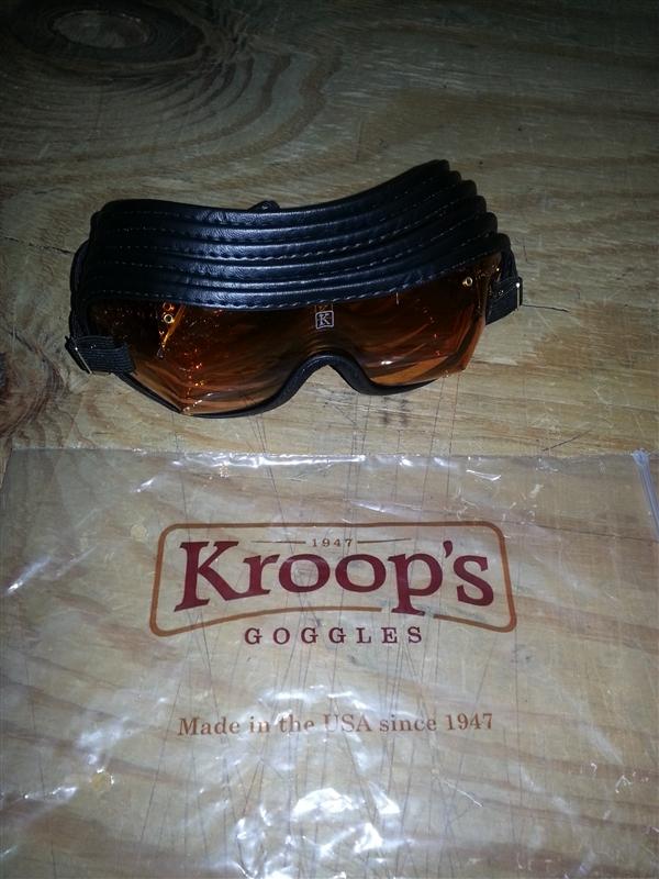 e7bb00a62244 Amber Lens Racing Kroops Goggle - Jockey Equipment