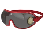 Smoked Lens, Brass Vent Jockey Goggle by Kroop's