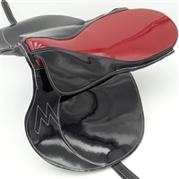 Large Light Horse Racing Saddle by Merlano, Made-to-Order