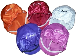 Satin Helmet Covers in European
