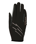 * FINAL SALE, NON RETURNABLE * Roeckl Jockey Gloves, Solar Style