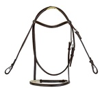 Racing Bridle Set with Reins in Leather