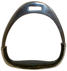 Aluminum Racing Stirrups Covered with Patent Leather