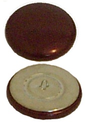 Helmet Button - Horse Racing Equipment