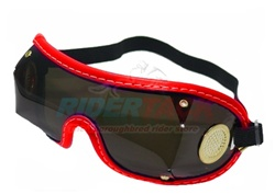 Tinted Lens Jockey Goggles by Designer