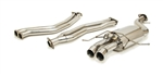Yonaka 2008-2013 BMW 135i 2DR Coupe Catback Exhaust