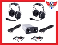 AR502 2 Place Rugged Intercom Package With Headsets