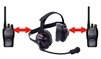 Bluetooth Dual Radio Headset Hands Free