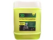 3D Extractor Shampoo 5 Gallon
