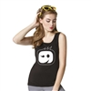 WonderWink Logo Tank Top in Black