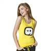 WonderWink Logo Tank Top in Wink Yellow