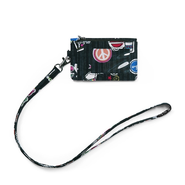 WonderWink Zip ID Case with Lanyard