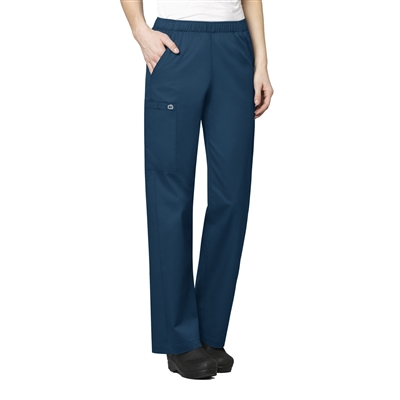 Women's Pull-On Cargo Pant by WonderWink