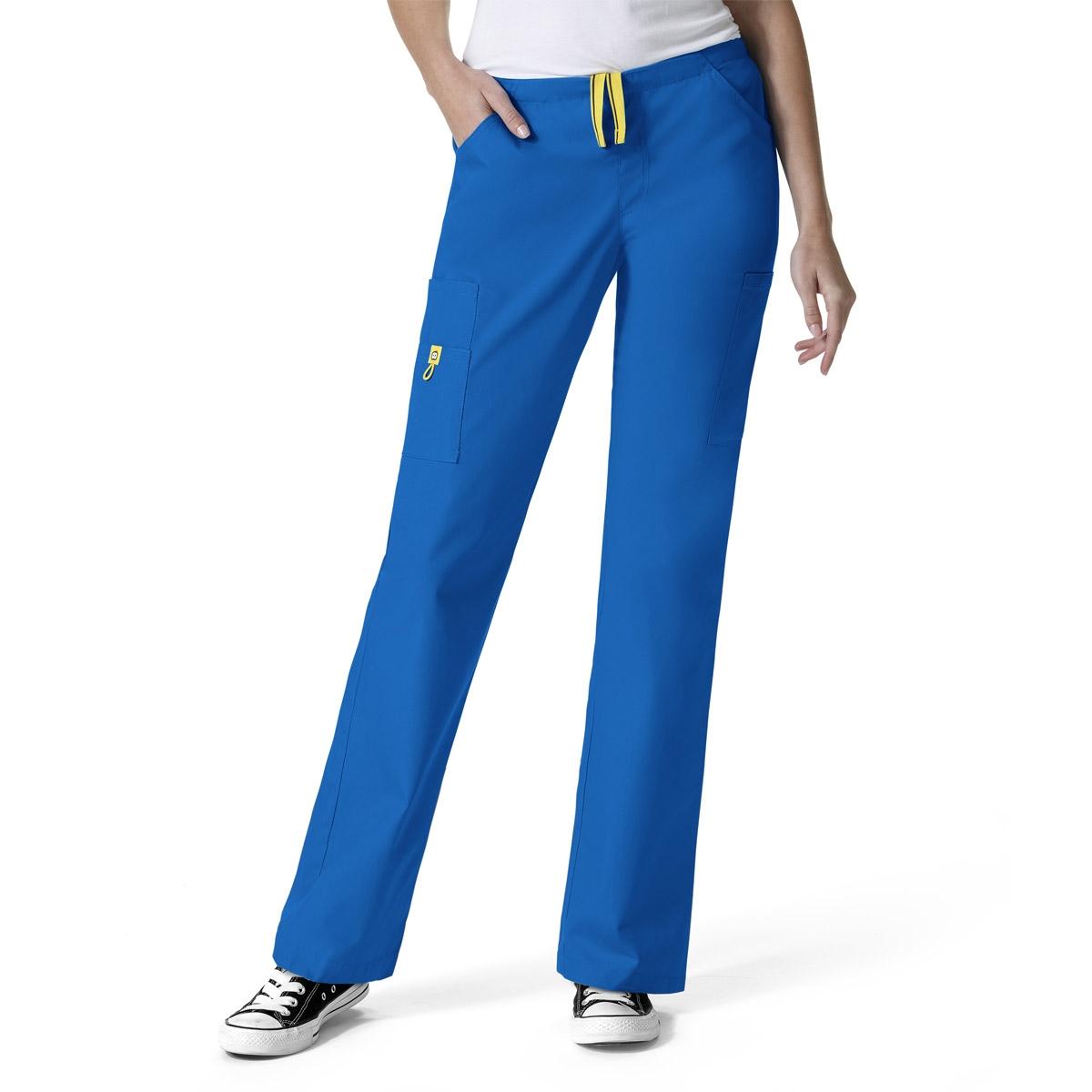 Straight Leg Nine Pocket Scrub Pants Wonderwink Origin Victor