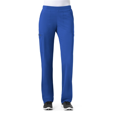 WonderWink High Performance Hybrid Modern Straight Leg Pull On Pant