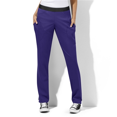 WonderWink WonderTECH Women's Six Pocket Straight Leg Pant
