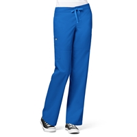 WonderWink Utility Girl Cargo Multi-Pocket Pant in Royal