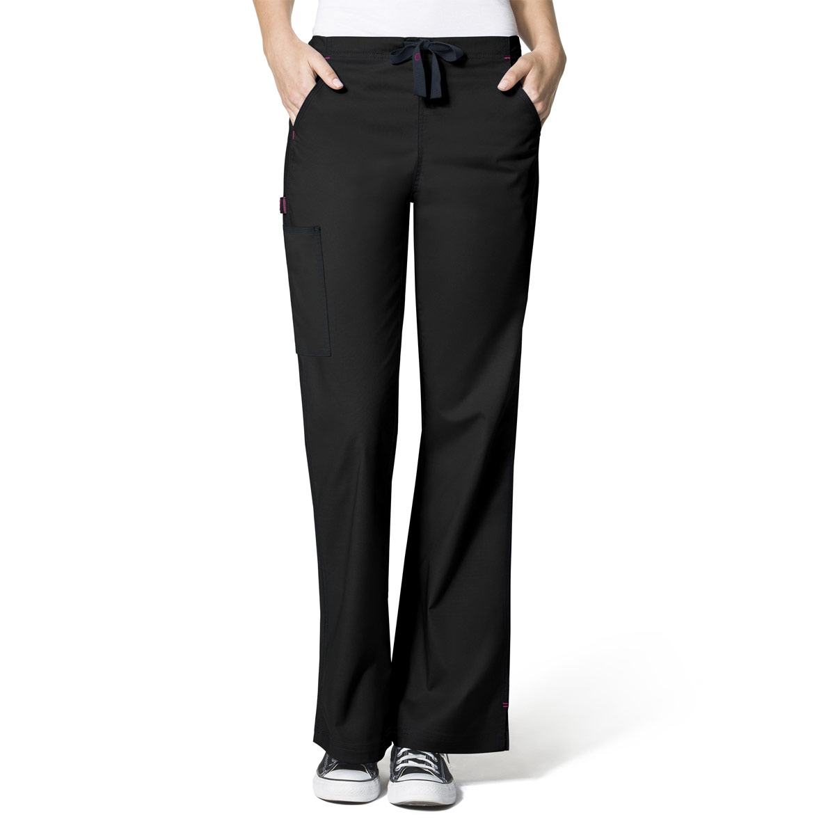 0a1b376e89350 WonderFlex Grace Flare Leg Scrub Pants For Women - WonderWink Scrubs