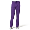 WonderWink WonderFLEX Destiny Slim Straight Pant in Electric Violet