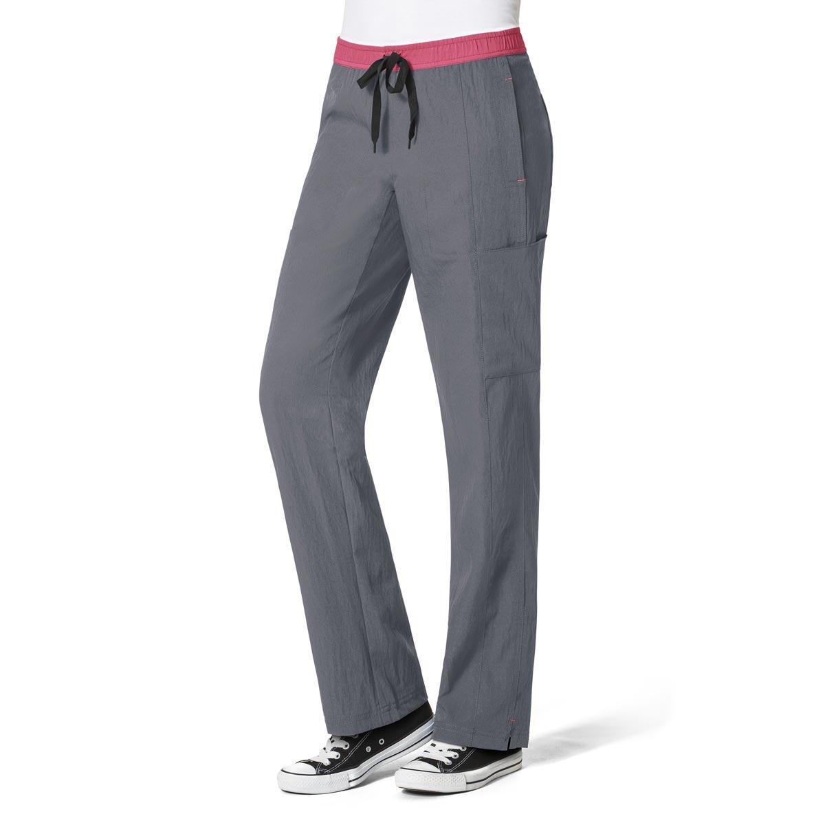324dd4eeb5e Women's Straight Leg Cargo Scrub Pants Four-Stretch - WonderWink Scrubs