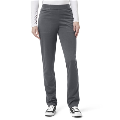 WonderWink Aero Women's Ponte Knit Straight Leg Pant