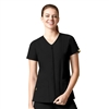 WonderWink Origins Kilo Lady Fit Zip Front Short Sleeve Jacket