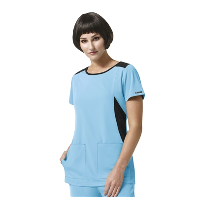 WonderWink High Performance Neo Boat Neck Top