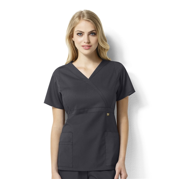 WonderWink Scrubs NEXT Elizabeth Mock Wrap Top