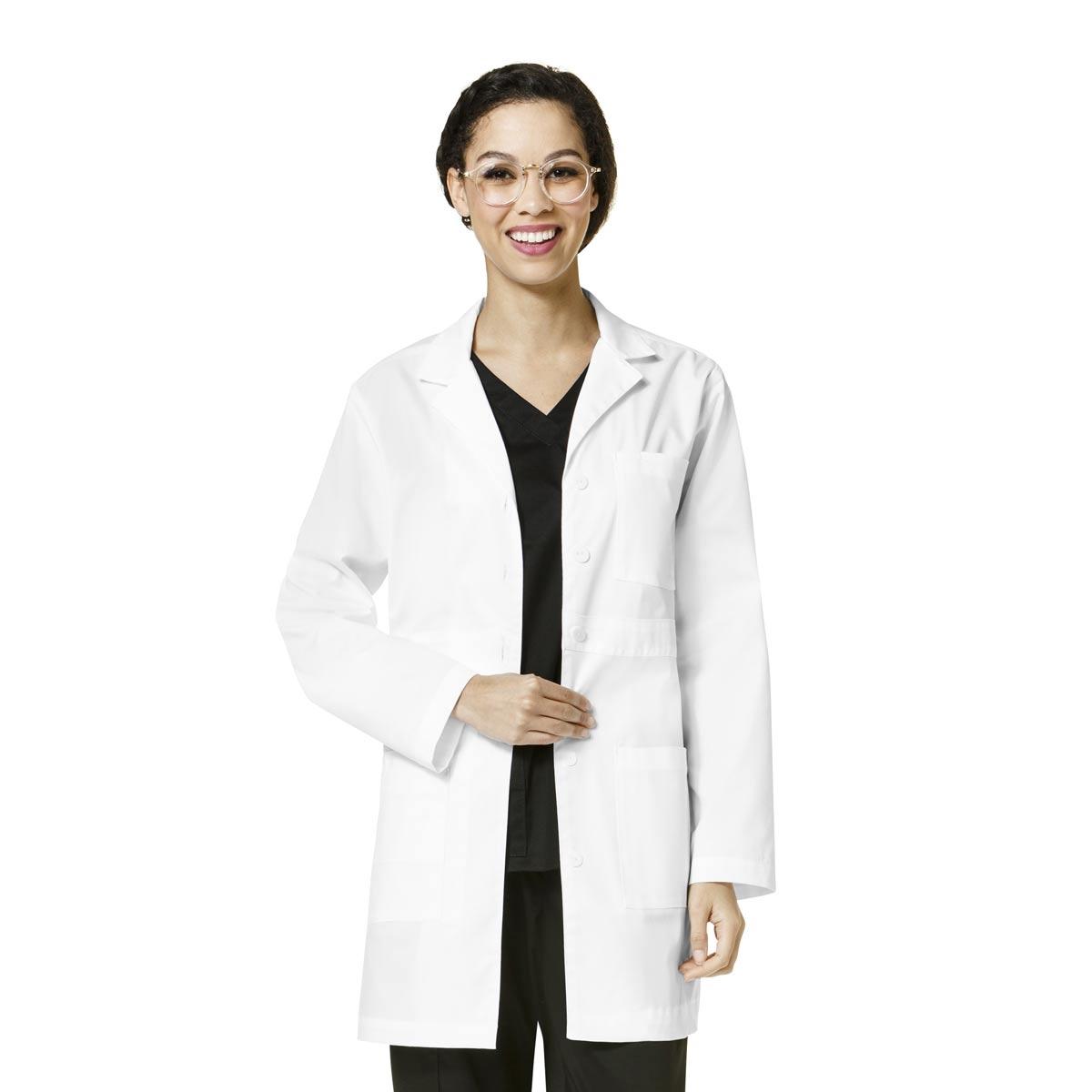 64ee731846b WonderWink WonderWORK Women's Basic Lab Coat View Larger Photo