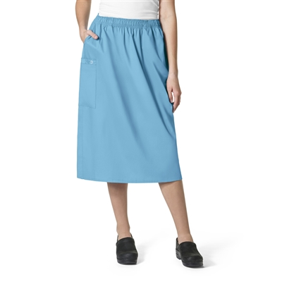 WonderWink WonderWORK Women's Pull On Cargo Skirt